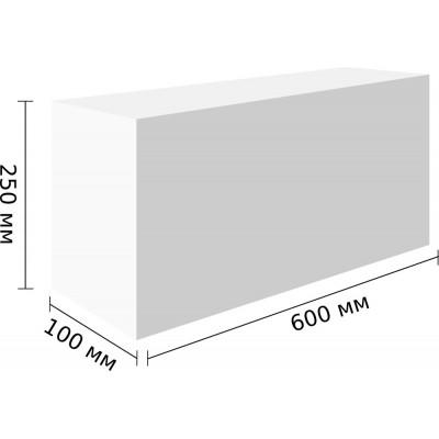 Перегородочные блоки Грас D400,600x250x100