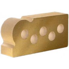 """Литос """"фасонный капля"""" желтый"""